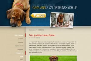 Web RR Fanča.cz