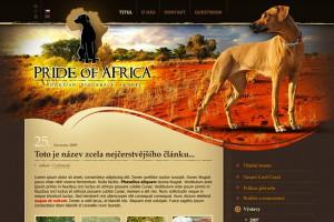 CHS Pride of Africa, Rhodesian Ridgeback