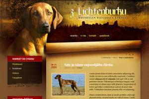 web CHS Rhodesian Ridgeback Z Lichtenburku