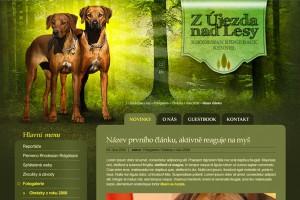 web CHS Z Újezda nad Lesy